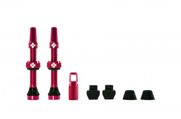 Muc-Off Tubeless Valves 44 mm Red
