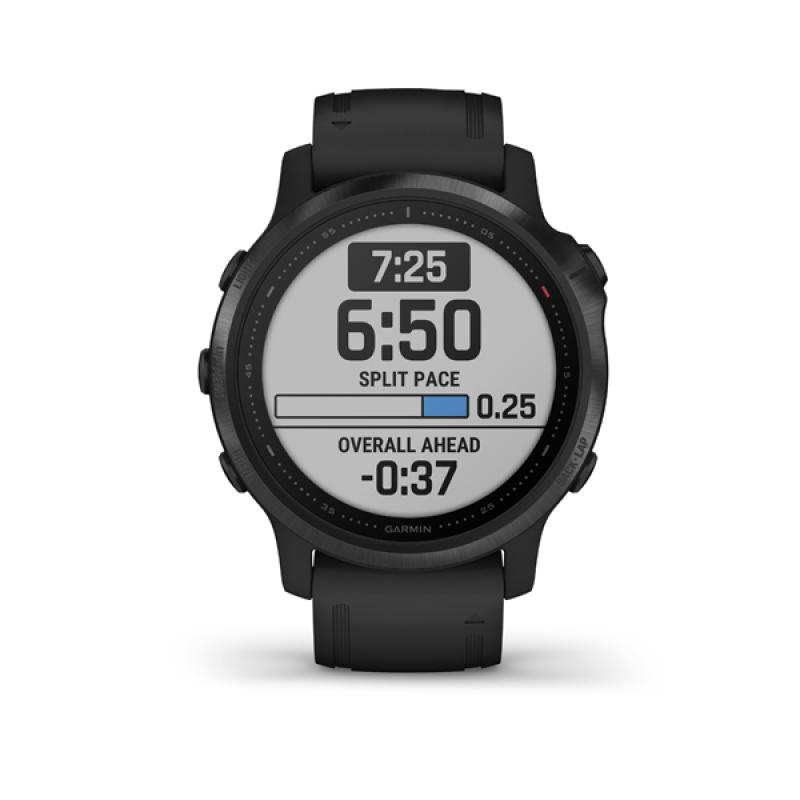 Garmin fénix 6S, PRO, Black, Black band