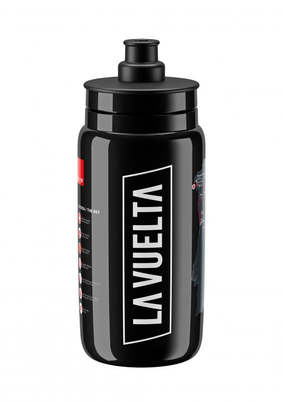 Elite FLY VUELTA 2020 MAP BLACK 550 ML