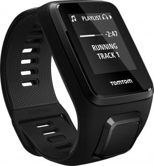 TomTom Runner 3 Cardio + Music Black