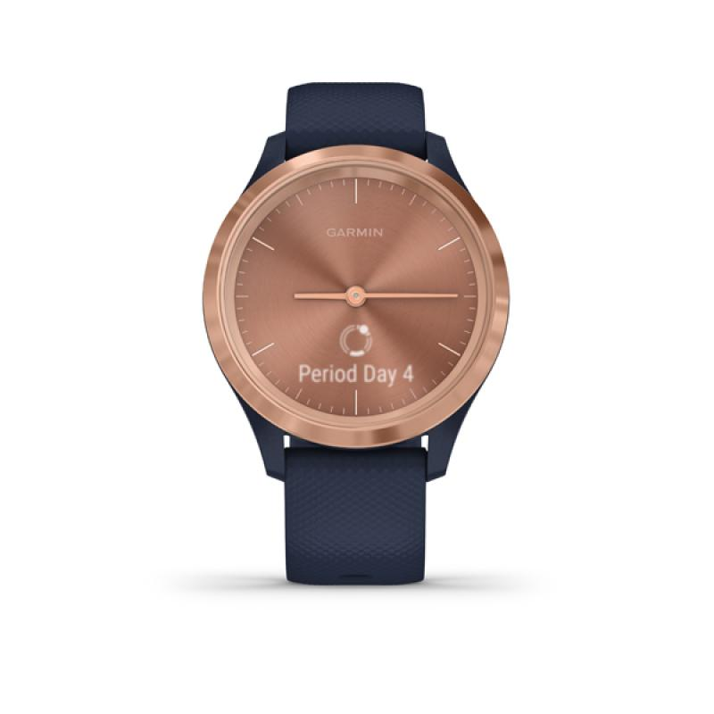 Garmin vivomove 3S Navy/Rose Gold, Silicone