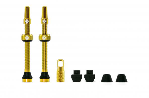 Muc-Off Tubeless valves 60mm Gold