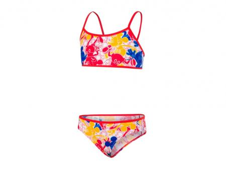 Dievčenské plavky Speedo Disney Mickey Mouse Allover 2 PCS