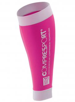COMPRESSPORT R2 kompresné návleky - pink