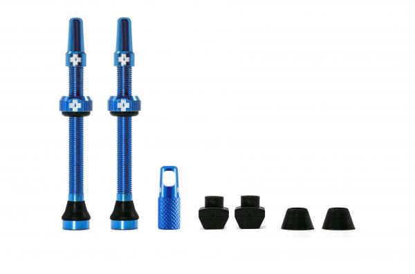 Muc-Off Tubeless Valves 60 mm Blue