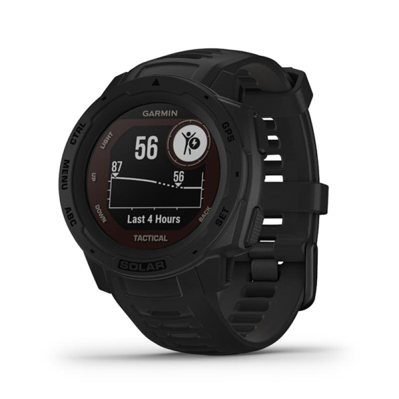 Garmin Instinct Solar, Tactical Black