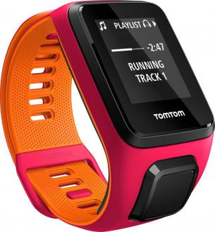 TomTom Runner 3 Cardio + Music Pink/Orange (S)