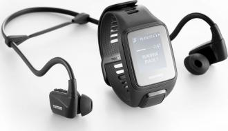 TomTom Runner 3 Cardio + Music + Headphones Black (L)