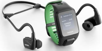 TomTom Runner 3 Cardio + Music + Headphones Black/Green