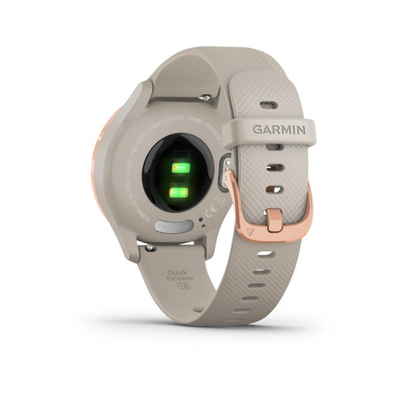 Garmin vivomove 3S Light Sand/Rose Gold, Silicone