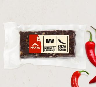 Marva RAW kakao s chilli
