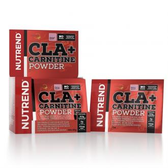 Nutrend CLA + CARNITINE POWDER 10x12g