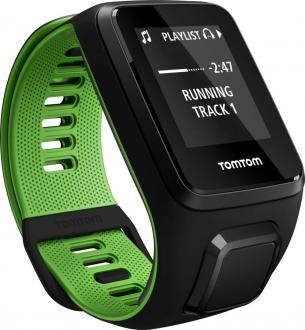 TomTom Runner 3 Cardio + Music Black/Green